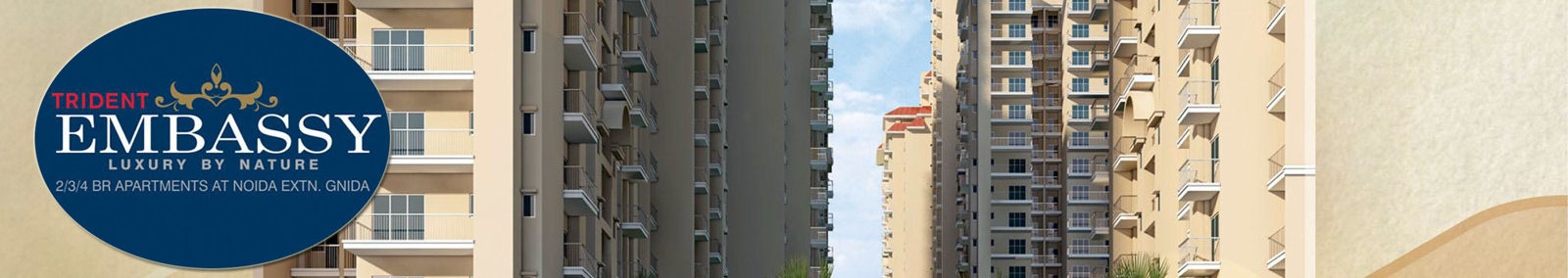 Residential Flats-trident Embassy, Affordable Flats Noida Extension |