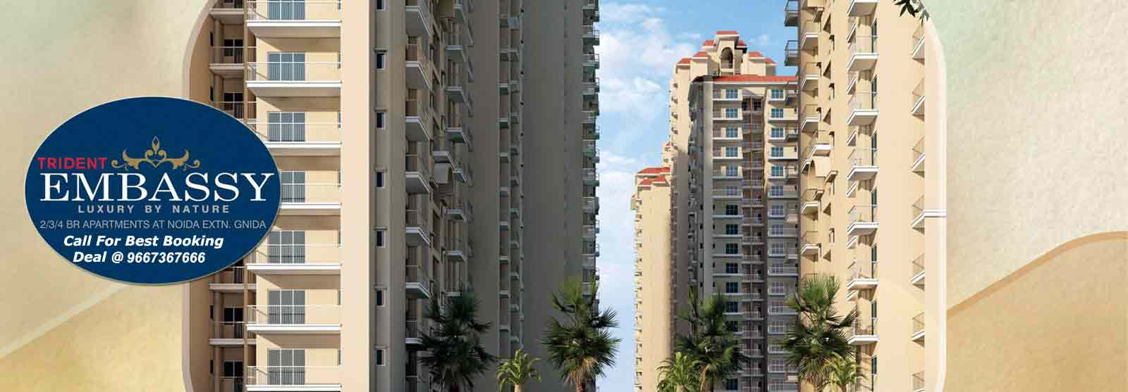 trident embassy noida extension, trident embassy,